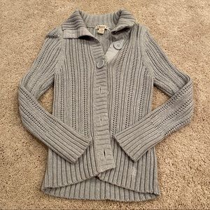 Forever Button Up Sweater